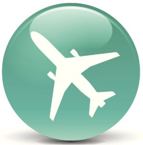 seafoam airplane button