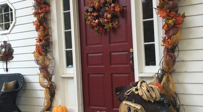 DIY, Fall Door Swag