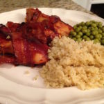 Bacon Wrapped Barbecue Chicken Tenders