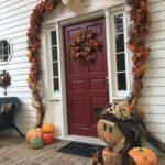 DIY, Fall Door Swag